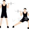 腿や尻の筋肉に効果的!サイドランジのやり方を解説